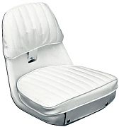 Moeller ST2070-HD White 2070 Economy Helmsman Seat