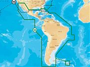 Navionics 3XG Gold Central and South America