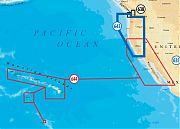 Navionics 643P+ Platinum Plus California and Oregon