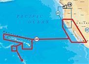 Navionics 644P+ Platinum Plus California South - Baja Hawaii