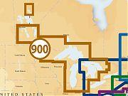 Navionics MSD/900P+ Platinum + West Great Lakes MSD Card