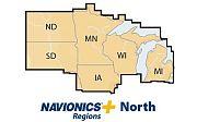 Navionics Nav Plus North MSD Regional Lakes and Coastal