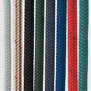 """New England Ropes 50591600025 Double Braided Dockline - Gold Braid - 1/2"""" x 25´"""