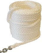 "New England Ropes 50H801600150 Megaplait Chain Rode 1/2""X150´"