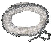 New England Ropes 62H101600150 Chain Rode 1/2 X 150