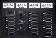 Newmar ES-4-SS Ac/Dc Master Control Panel with 7.5 kW
