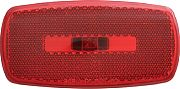 Optronics MC32RBBP Marklight Oval RV Blkbase Red