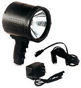 Optronics QR-2000 Recharg. Spotlight 2M Cp Black
