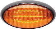 Optronics RVPLL11AB LED Yellow Oval Porch Light