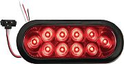 "Optronics STL74RKBP 10LED 6""OVAL Taillight Kit"