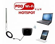 PDQ 7010A-KIT Allpro Wifi Boost Kit and Hotspot