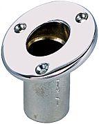 "Perko 0219DP1CHR Flush Flag Pole Socket - ID 3/4"""