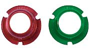 Perko 0281DPALNS Sidelight Lens Set - Red/Green