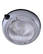 "Perko 0300DP2CHR 5"" Surface Mount Dome Light"