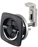 Perko 0932DP1BLK Flush Lock & Latch - Non-Adjustable