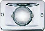 Perko 0939DP112V Chrome 12V Sternlight