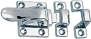 Perko 1102DP2CHR Cupboard Catch With Offset Box Strike