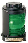 Perko 1127GA0BLK Series 1127 Starboard Side Light - Green