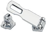 Perko 1194DP0CHR 3 C/P Zinc Swivel Eye Hasp