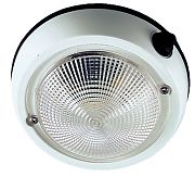 "Perko 1253DP2WHT 5"" Exterior Surface Mount Dome Light"