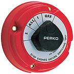 Perko 8502DP Battery Switch With Key Lock