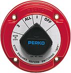 Perko 8504DP Battery Switch  With Lock