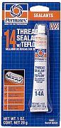 Permatex 80631 Thread Sealant with PTFE 1oz Tube