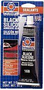 Permatex 81158 Black Silicone Adhesive Sealant