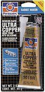 Permatex 81878 3 Oz. Ultra Copper Silicone