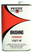 Pettit Brushing Thinner 120/T-10Q Quart