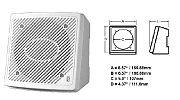 Polyplanar MA-1610 Speaker White 5 1/2 Box Mount