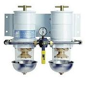 Racor 75500MAX2Max-Dual Fuel Filter/Water Separator