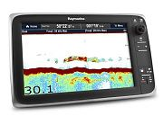"Raymarine  c127 12"" Multifunction Display with built-in Fishfinder with Navionics + North America"
