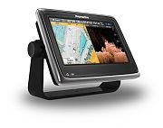 "Raymarine A98 9"" Multifunction Display & CHIRP Downvision Sonar with C-MAP Essentials US"