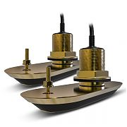 Raymarine RV-220 Realvision 3D Pair Bronze Thru Hull 20DEG