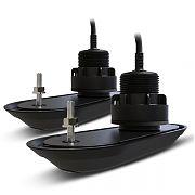 Raymarine RV-312 Realvision 3D Pair Plastic Thru Hull 12DEG
