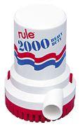 Rule 11 2000 GPH Non-Automatic Bilge Pump - 32v
