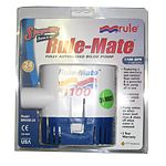 Rule RM1100-24 1100GPH 24V Rule Mate Automatic Bilge Pump