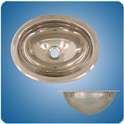 Scandvik 10280 Stainless Steel Basin - Mirror Finish