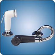 Scandvik 11622 White Shower Sprayer With Hose