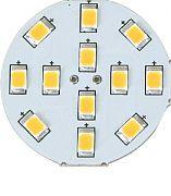 Scandvik 41010P Light G4 Back Pin 10 LED Ww