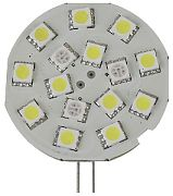 Scandvik 41053P Light G4 Side Pin 15 LED Cwith Rd