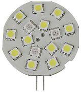Scandvik 41053P Light G4 Side Pin 15 LED Cwith Rd