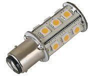 Scandvik 41082P Light BAY15D Tower 18 LED Ww