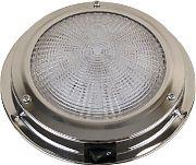 """Scandvik 41324P Dome Light SS 5.5"""" LED 12 Volt"""