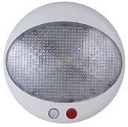 Scandvik 41345P LED Dome Dimmable with  Rd Night