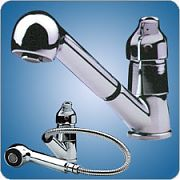 Scandvik Marine Inc. Single Lever Galley Faucet