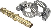 """Scepter 7196 Hose Mender 1/4""""WITH  SS Clamps"""