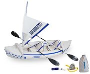 Sea Eagle SE 330 QuikSail Kayak Package