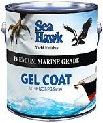 Sea Hawk Gel Coat Whisper Gray Quart